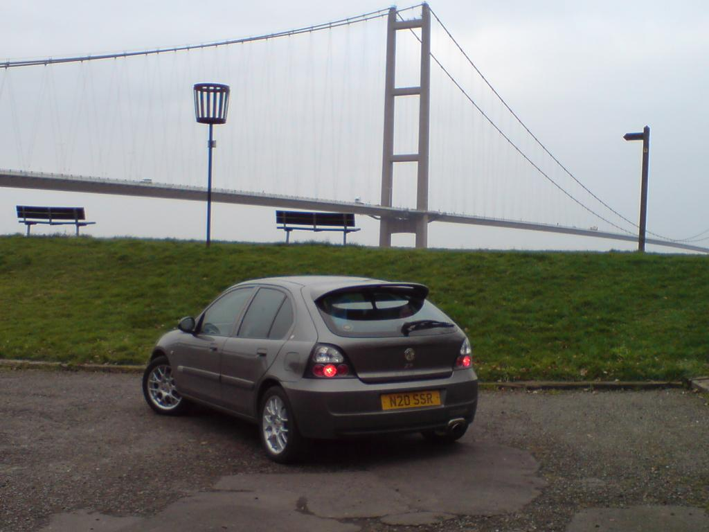 ZR at the humber  bridge