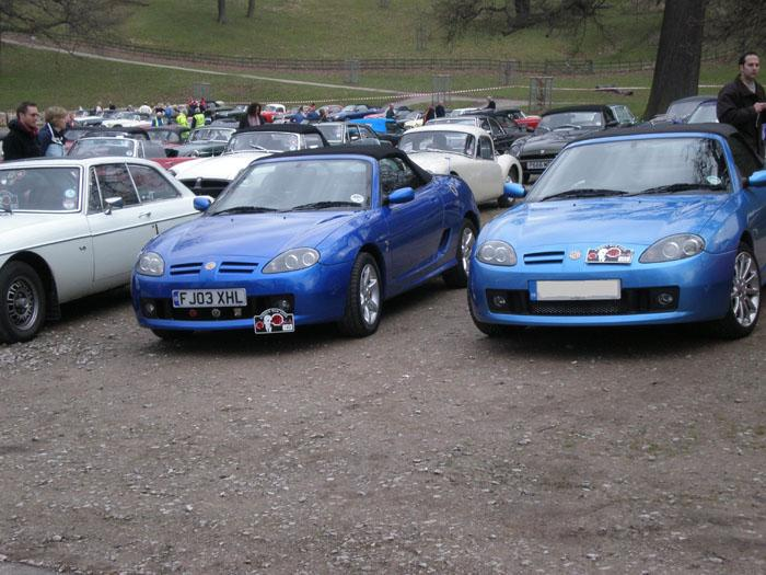 My TF 135 in trophy blue,Kimber run 2008 at chatsworth