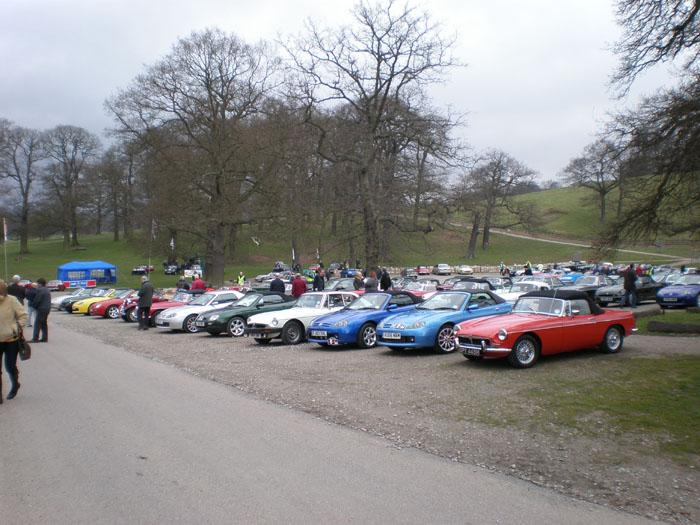 Gathering for kimber run 2008