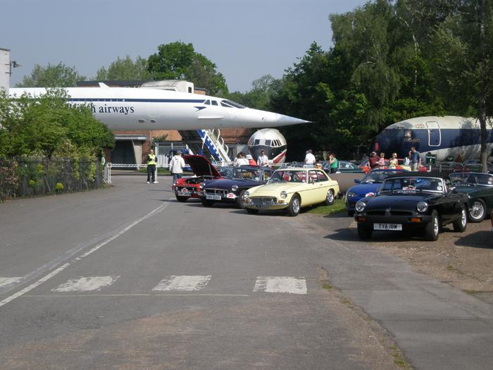 Gathering for the Regency Run 2008