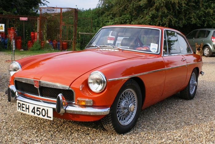 We have just collected our 1972 MGB GT.  We nearly bought such a car when they were new.
