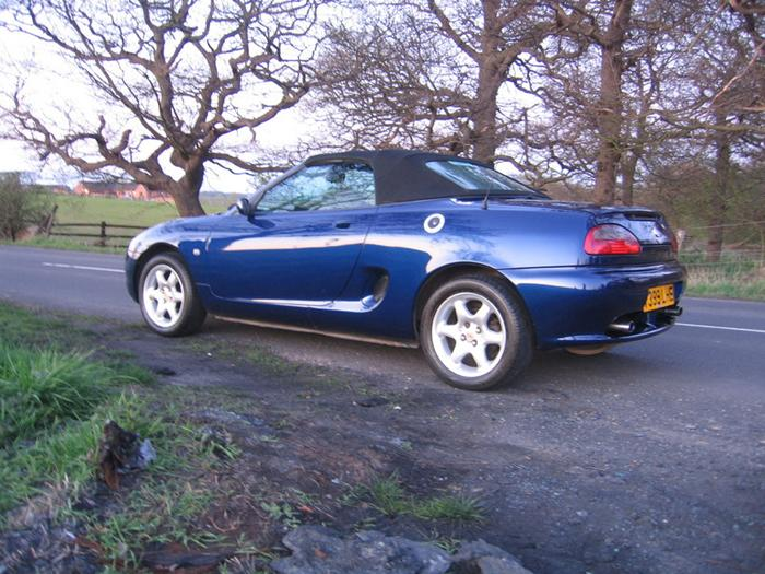 Have wanted an MGF since I saw one when I was very little, this is my 99 Tahiti Blue, nicknamed; 'turtle'
