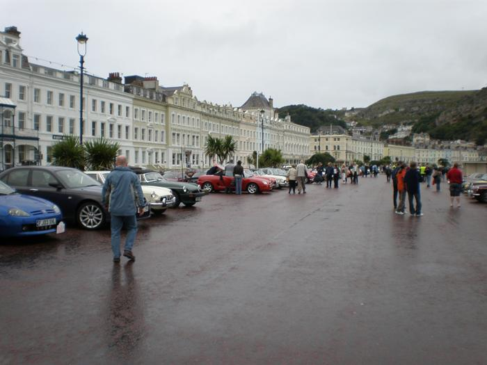Gathering on Llandudno prom