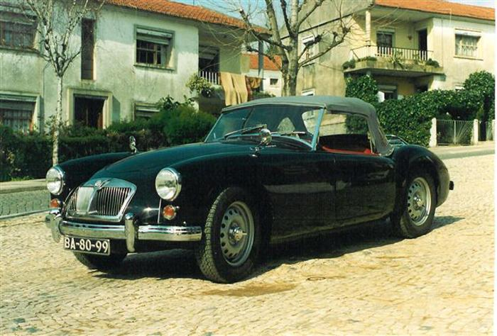 MGA MKII Roadster DeLuxe GHNL2-105434