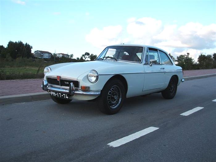 MG B GT V8 GD2D1 643G - 1973. Converted to LHD