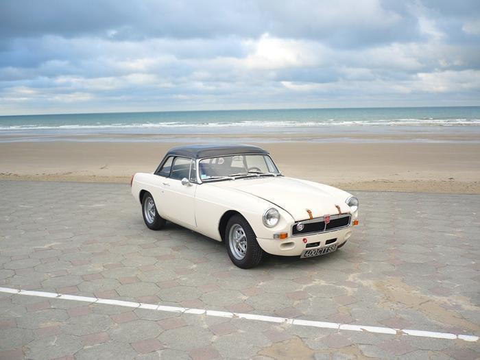 My car on sea