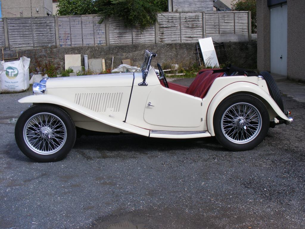 1940 MG TB