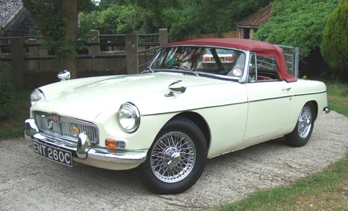 Mk1, 1965 MGB Roadster, Reg: ENT 260C, purchased Jan 2009.