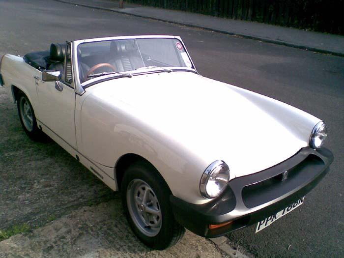 This is my MG Midget