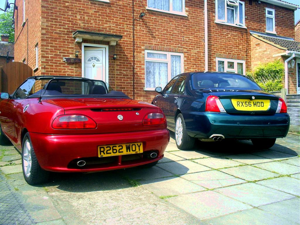 My ZT 160 Turbo with my nightfire red MGF VVC love them both.
