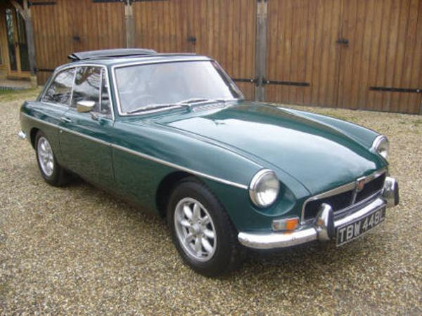 My first MGB GT 1973
