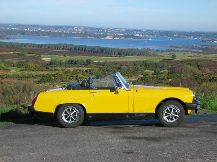 Noddy out on our fave run taken @ Studland before we drivedown to the car ferry across to Sandbanks
