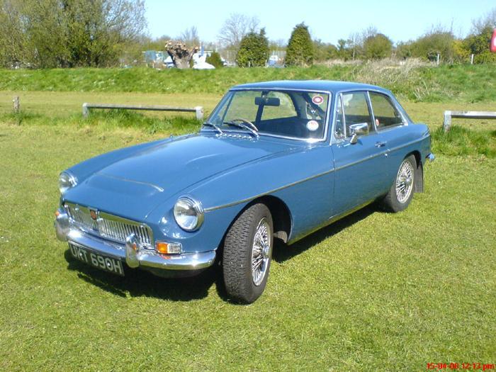 MGC GT - as original, first registered June 1970 - still going strong after a bit of TLC