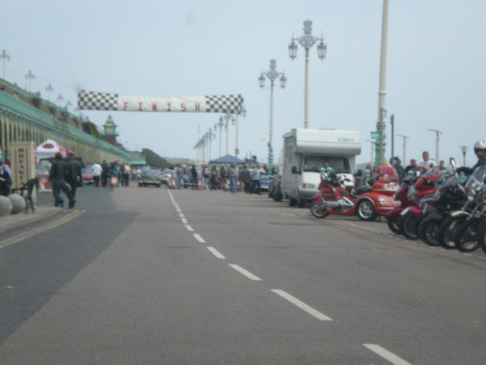 Regency Run 2009 Finish line