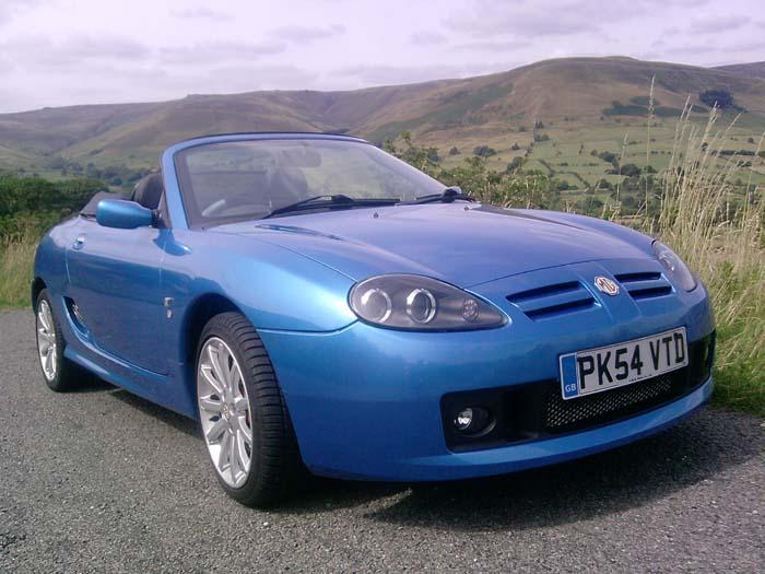 TF Spark 135 Sonic Blue