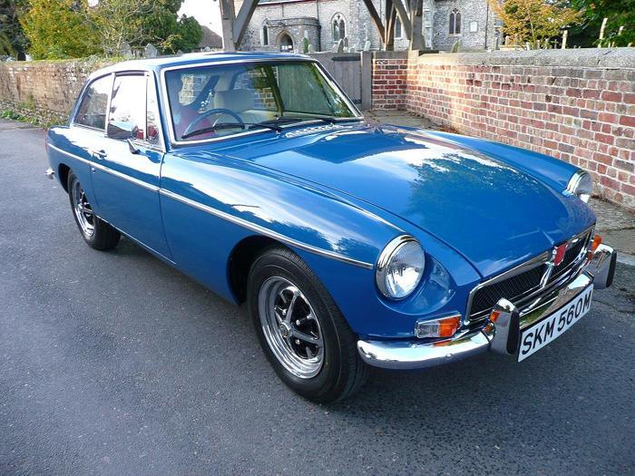 1973 MGB GT Teal BlueREG NO: SKM 560M