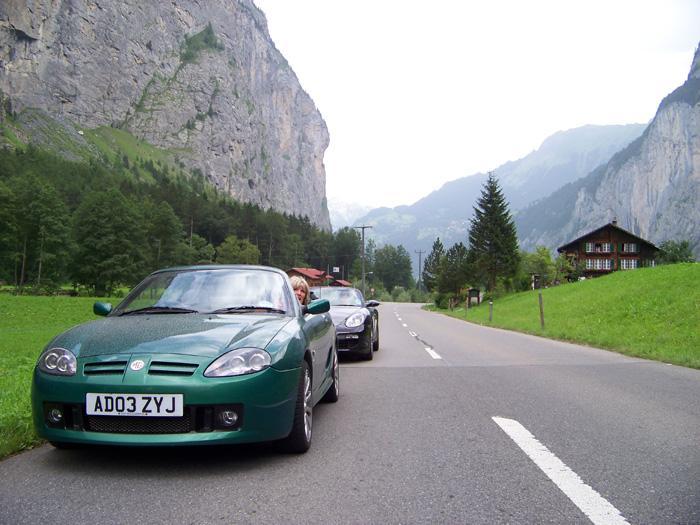 Switzerland, nr Interlaken, well worth the effort!