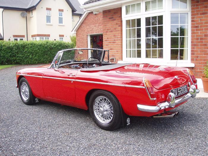 """'66 Roadster, restored, but original spec', AKA """"Benny B"""", AKA my """"Mistress""""."""