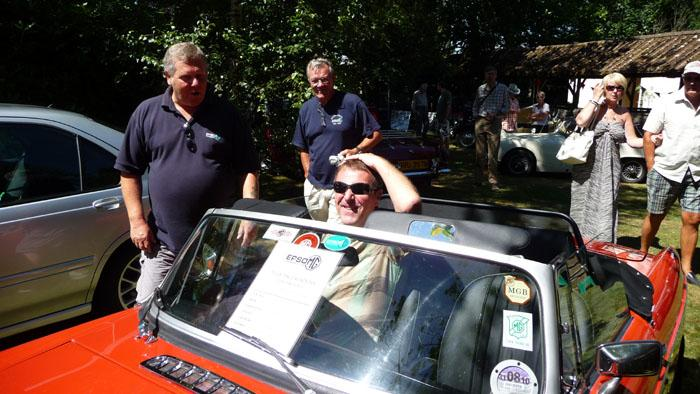 MG show at The Childrens Trust Tadworth July 2010