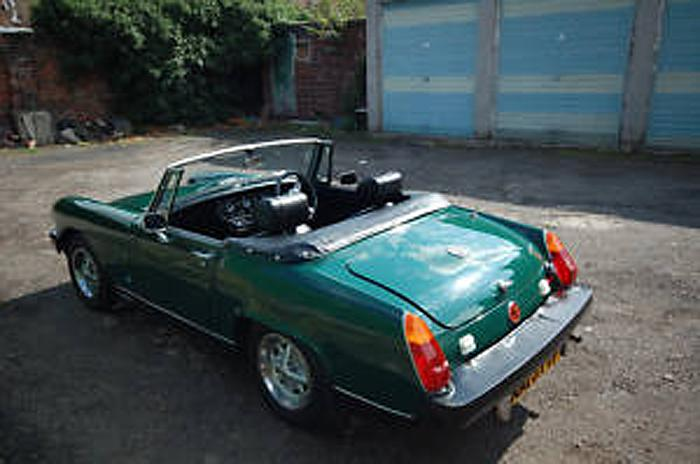 My first and long awaited and wanted MG Midget 1500