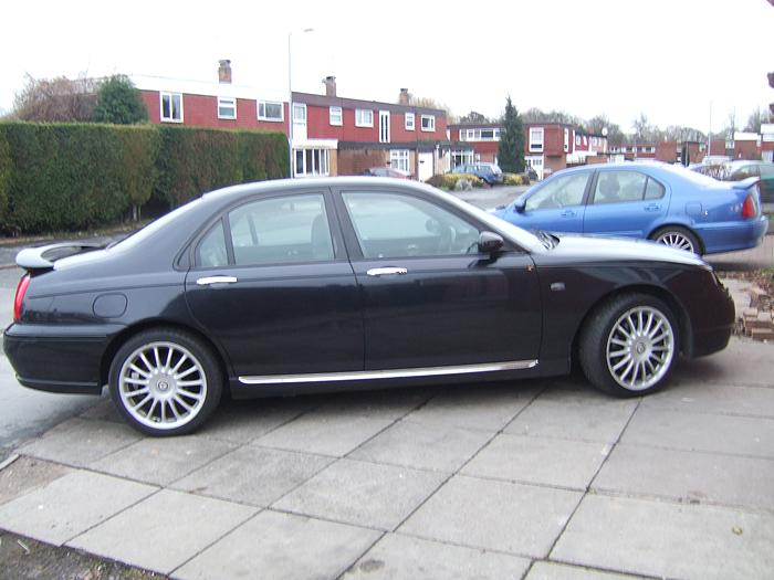 My new addition to our MG fleet an MGZT 190+ to go with our MGZS 120 saloon and a MGTF 160 and a MGF VVC