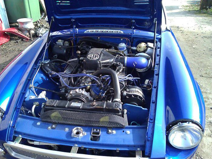 Engine Bay V8 conversion