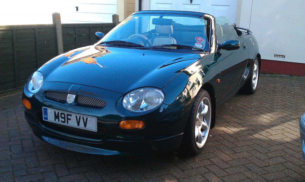 First day out of garage this year,could not wait my mtf 1997