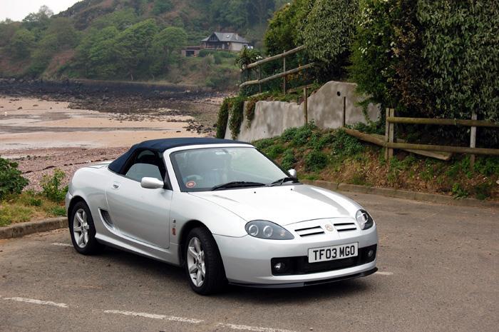 My 2003 TF135 at the beach.