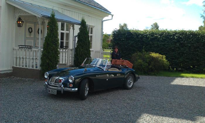 At Hillringsberg Mansion in Sweden