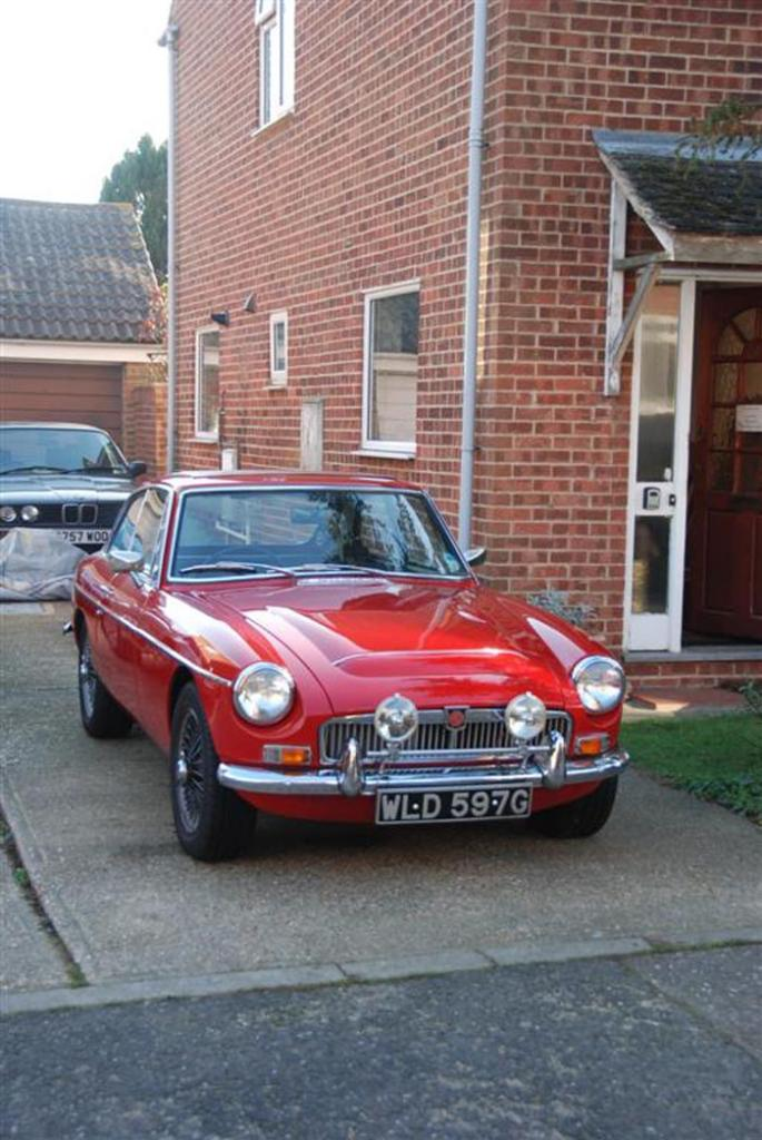 My second MG but this time an 1969 MGC - FANTASTIC