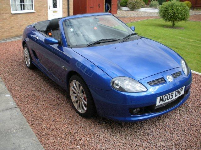 MG Tf LE500. Intense Blue