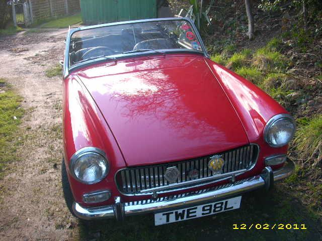 My lovely MG Midget