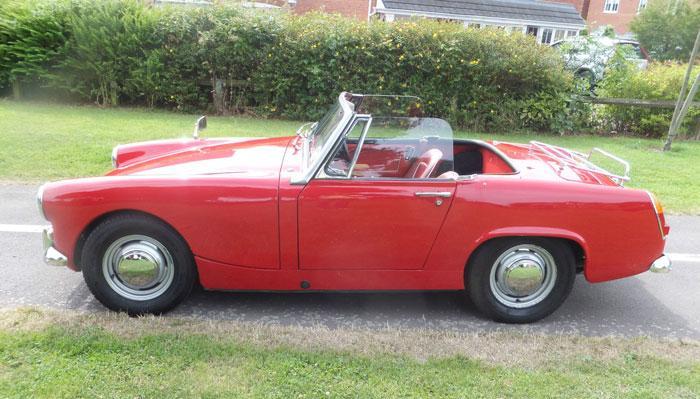 My 1964 Mk2 midget