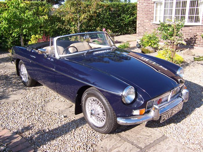 My '68 Roadster is finally ready to hit the road. It marks the end of a steep learning curve about MGB,s. I thought I new a bit about cars before I started but it turned out I knew 'nowt'. This has been almost a complete rebuild and my knowledge of the 'B'is now good to say the least.