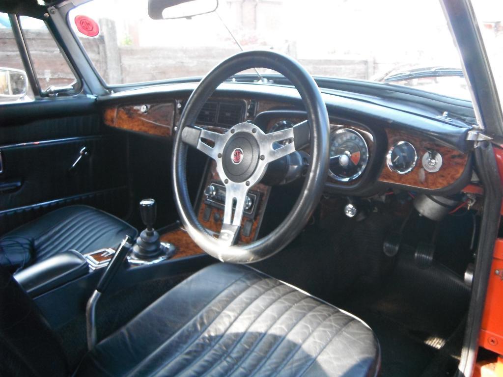 Interior 1973 roadster