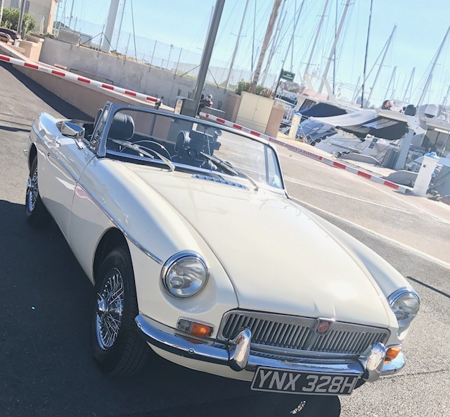 Cardiff to Cannes - she didn't miss a beat!