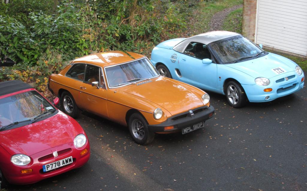 Orion's MG's at home Redditch