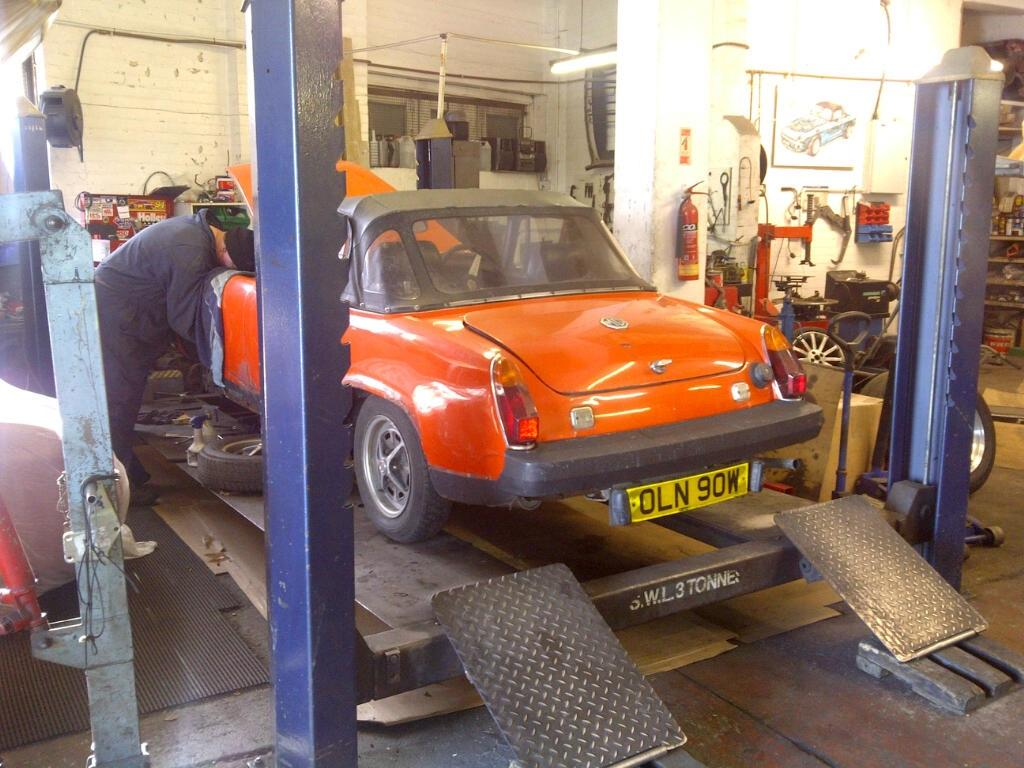 Midge-pre restoration 2012 @ Fisher MG Services